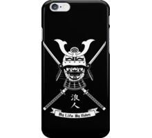 My life - My rules iPhone Case/Skin