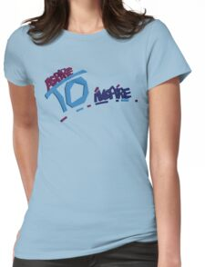 Aspire to inspire Womens Fitted T-Shirt
