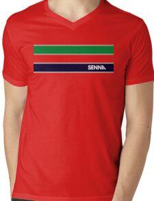 AYRTON SENNA HELMET DESIGN Mens V-Neck T-Shirt