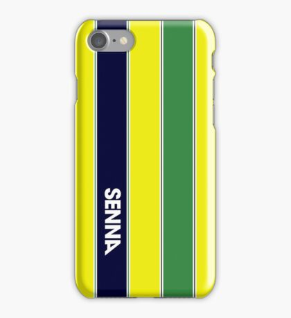 AYRTON SENNA HELMET DESIGN iPhone Case/Skin
