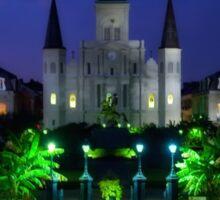 New Orleans Louisiana Sticker