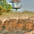 Beach Tower by Michael  Herrfurth