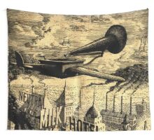 Neutral Milk Hotel Wall Tapestry
