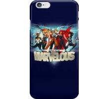 Born to be Marvelous iPhone Case/Skin