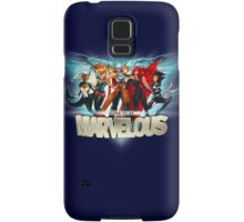 Born to be Marvelous Samsung Galaxy Case/Skin