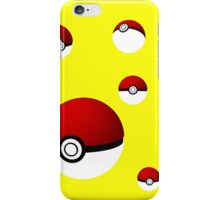 Pokeball composition iPhone Case/Skin