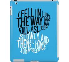 TFIOS - Love like Sleep iPad Case/Skin