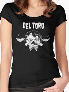 Del Toro Danzig Women's Fitted Scoop T-Shirt