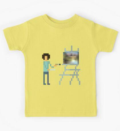 Pixel Ross Kids Tee