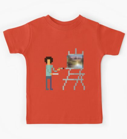 Pixel Ross Kids Tee
