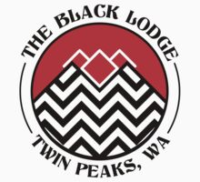 The Black Lodge Club - Twin Peaks Kids Tee