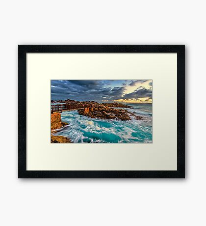 Sunrise at the Sea Framed Print