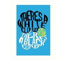 TFIOS Clouds Art Print