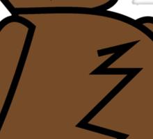 Legless Bear Sticker