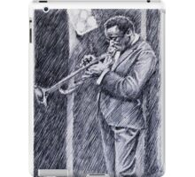 Jazz Portrait-Miles iPad Case/Skin