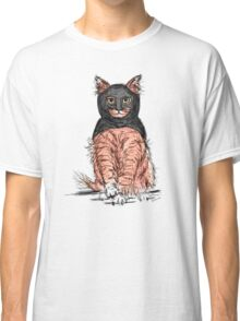 BAT CAT Pattern 2 Pink Periwinkle Classic T-Shirt