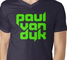 paul van dyk green Mens V-Neck T-Shirt