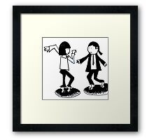 Vincent & Mia Framed Print
