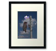 Up Up And Away ... Framed Print