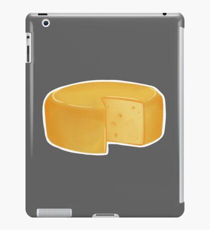 cheese (with white border) iPad Case/Skin