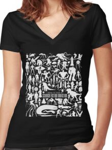 Science Fiction Addiction Women's Fitted V-Neck T-Shirt