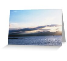 Sea & Mountains Greeting Card
