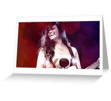 Mia Von Glitz 4 Greeting Card