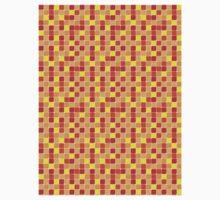 Pattern Mosaic Texture Baby Tee