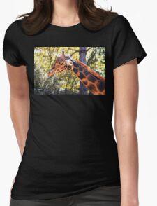 Baringo Giraffe Womens Fitted T-Shirt