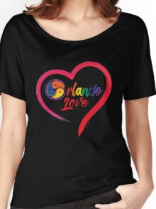 Kinky Orlando Love Women's Relaxed Fit T-Shirt