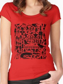 Science Fiction Addiction Women's Fitted Scoop T-Shirt