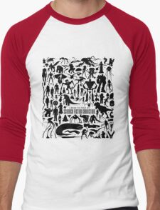 Science Fiction Addiction Men's Baseball ¾ T-Shirt