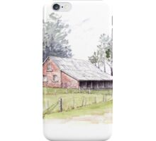Woolmers Shearing Shed by Muriel Sluce iPhone Case/Skin