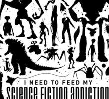 Science Fiction Addiction Sticker