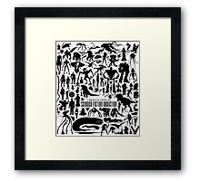 Science Fiction Addiction Framed Print