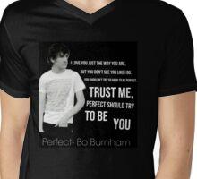 Perfect- Bo Burnham Mens V-Neck T-Shirt