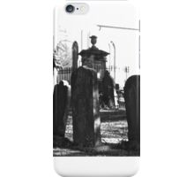 Cemetery. St. Peters. N.S.W. iPhone Case/Skin