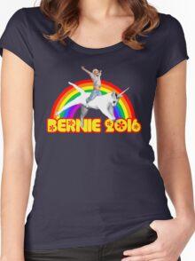 Bernie Unicat Women's Fitted Scoop T-Shirt