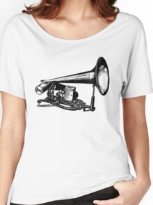Vintage Phonograph - Early Model Women's Relaxed Fit T-Shirt