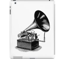 Vintage Phonograph - Later Model iPad Case/Skin
