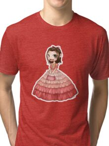 Shiny, Captain Tri-blend T-Shirt