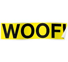 Woof! Poster