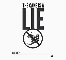 Warning: The cake is a lie Tank Top