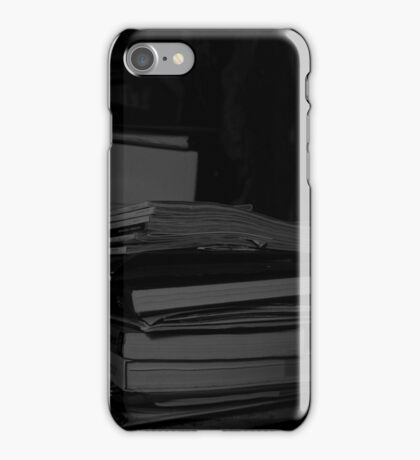 Silence of the books iPhone Case/Skin