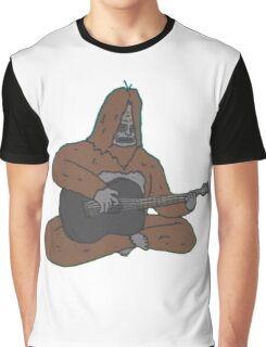 Sassy with a guitar Graphic T-Shirt