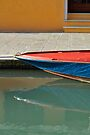 Boat Reflecting by Tiffany Dryburgh