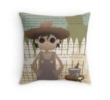 Cute Classics - The Adventures of Tom Sawyer Throw Pillow