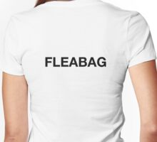 Fleabag - From BBC 3 Series Fleabag Women's Fitted V-Neck T-Shirt