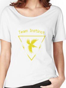 Pokemon Go Team Instinct logo Women's Relaxed Fit T-Shirt