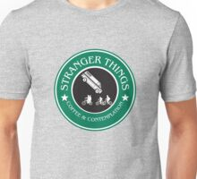 Stranger Things: Mornings are for Coffee and Contemplation (version three) Unisex T-Shirt